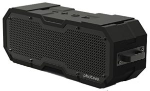 Another solid Photive wireless Bluetooth speaker with water protection