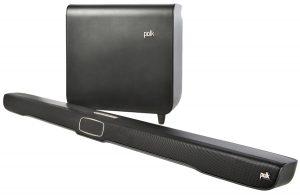 A very high-quality soundbar by Polk Audio