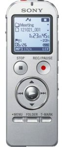 A decent quality voice recorder by Sony