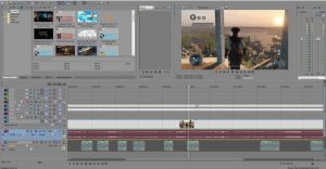 A great software to edit videos by Sony