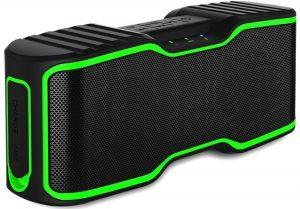 A solid waterproof wireless Bluetooth speaker