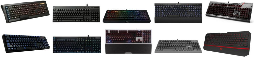 Here's our guide of the best keyboards for gaming