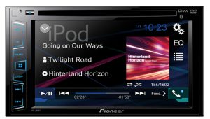 Another Pioneer stereo with Bluetooth for cars