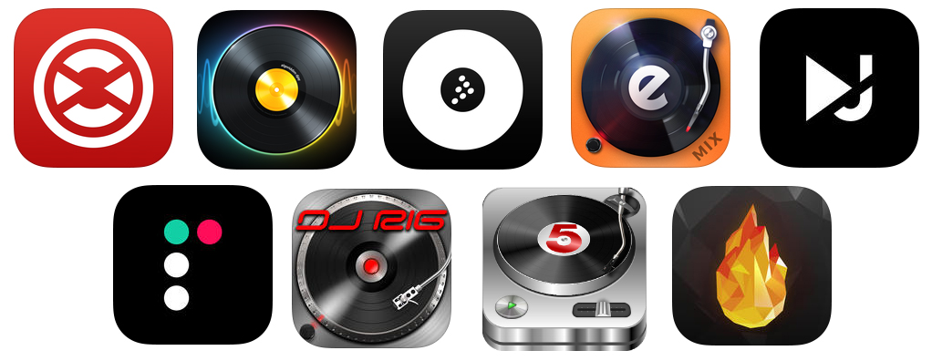 We survey through the best smart device DJ applications for both iOS and Android