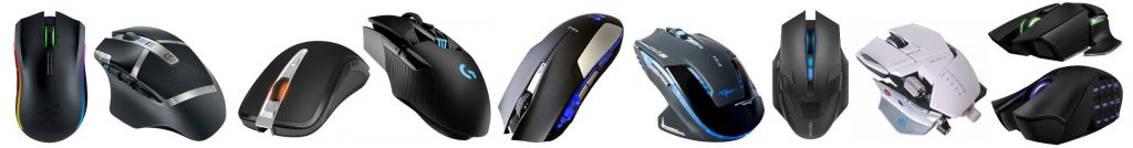 We review the best wireless gaming mouse models for the money