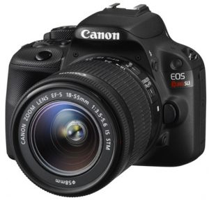 Another Rebel DSLR camera for beginners