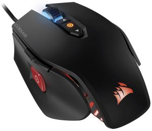 A high-end gaming mouse by Corsair