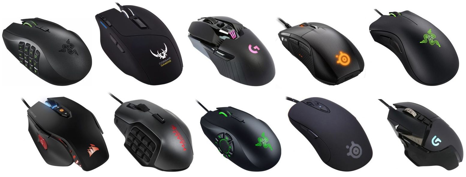 the top 10 best gaming mice in the world the wire realm