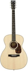 A highly rated acoustic guitar