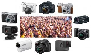 Here's our picks for the best camera to film and capture music festival memories