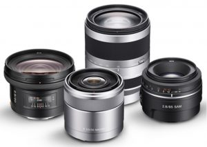 DSLR cameras give us interchangeable lenses for custom fits