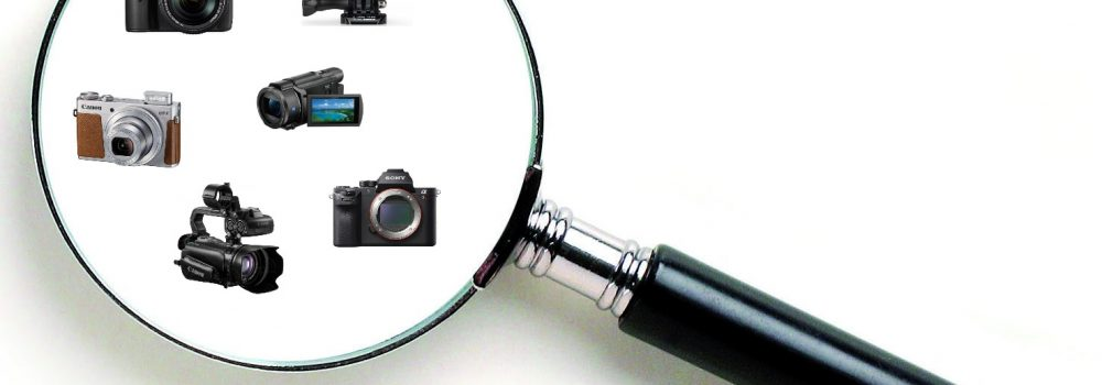 A List of the Different Video Camera Types Explained
