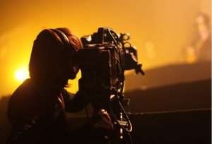 Professional grade video camera types up the ante on all features of a camera