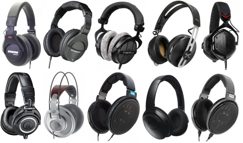 The best over-ear headphones will range depend on preferences