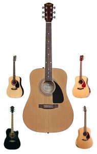 We provide our recommendation as the best beginner acoustic guitar