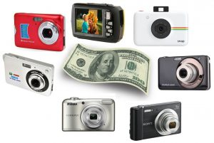 We found a few of the best digital cameras for under 100 dollars