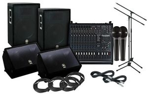 For you, the best live sound gear may involved everything in one package
