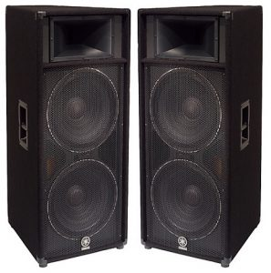 The best music gear for live sound will of course have speakers