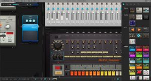 We love Audiotool's interface -- it's super intuitive and easy