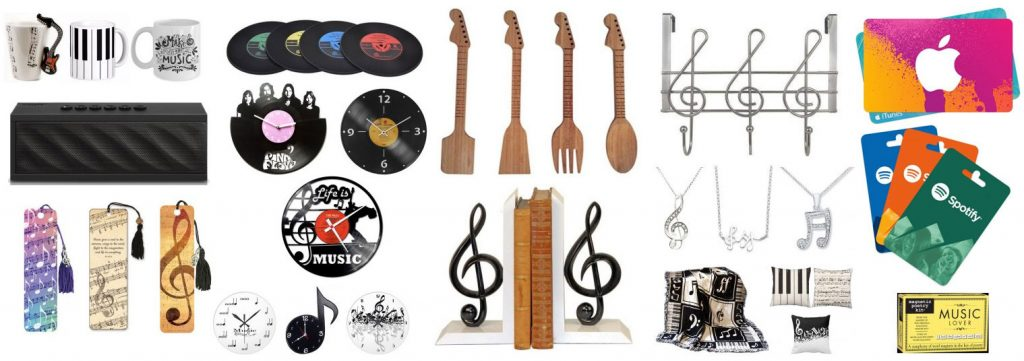 We found a bunch of presents for music lovers, musicians, producers and singers