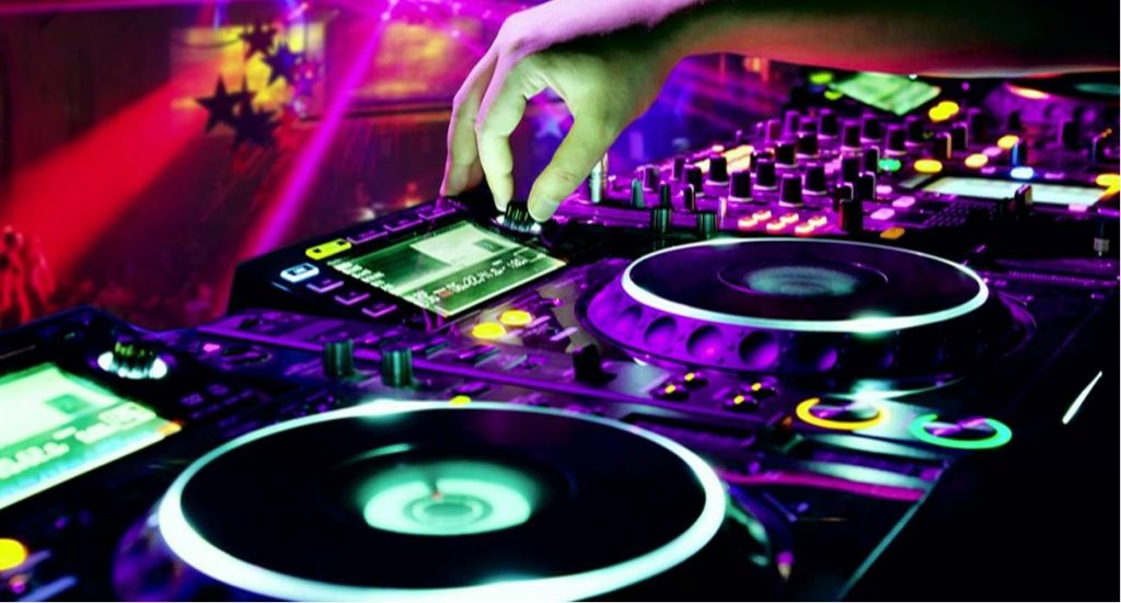 Modern DJ equipment includes DJ controllers and software