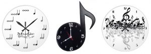 A clock is always a great gift idea for music lovers