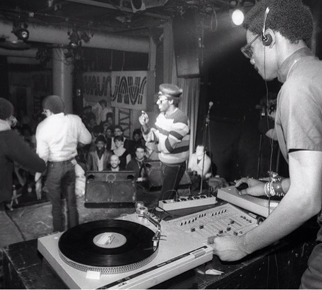 The 'back in the day' DJ setup