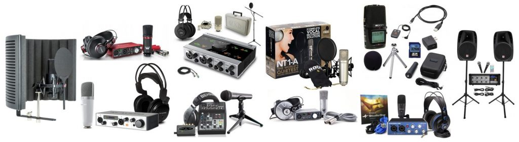 If you're looking to save money and time, we found the best recording studio equipment packages
