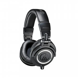 The Audio-Technica ATH-M50X headphones