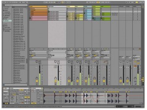 Ableton Live Lite included software of the APC40 MKII