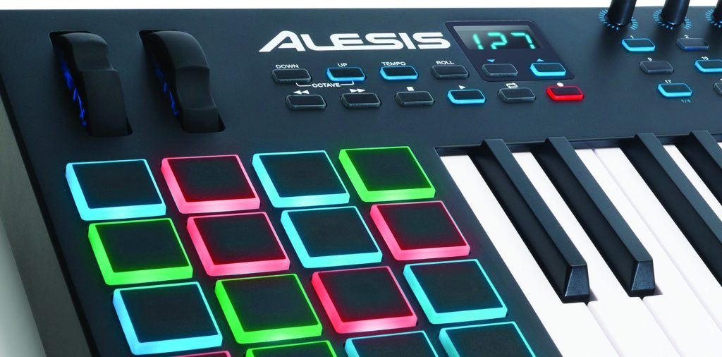 alesis vi25 midi keyboard controller review the wire realm. Black Bedroom Furniture Sets. Home Design Ideas