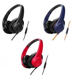 The ATH-AX3iS SonicFuel headphones