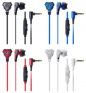 The available colors of the new SonicFuel headphones