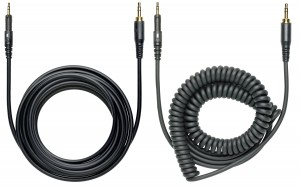 The Audio-Technica M40X cables