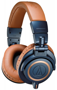 The blue version of the M50x