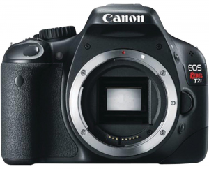 The Rebel T2i by Canon