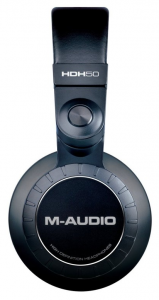 M-Audio HDH50 side view