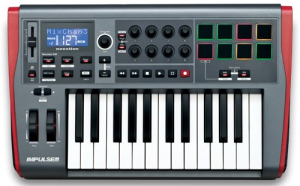 A more expensive 25-key MIDI keyboard controller