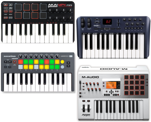 Best 25 key MIDI keyboard controller