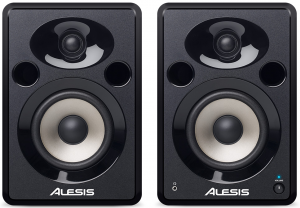 A nice pair of studio monitor speakers by Alesis