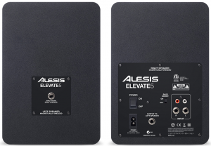 The back view of the Alesis Elevate 5