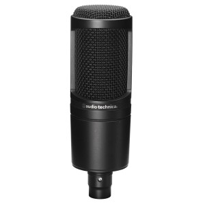 Our first mic for recording rap vocals