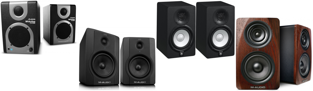 the best studio monitor speakers for under 500 the wire realm. Black Bedroom Furniture Sets. Home Design Ideas