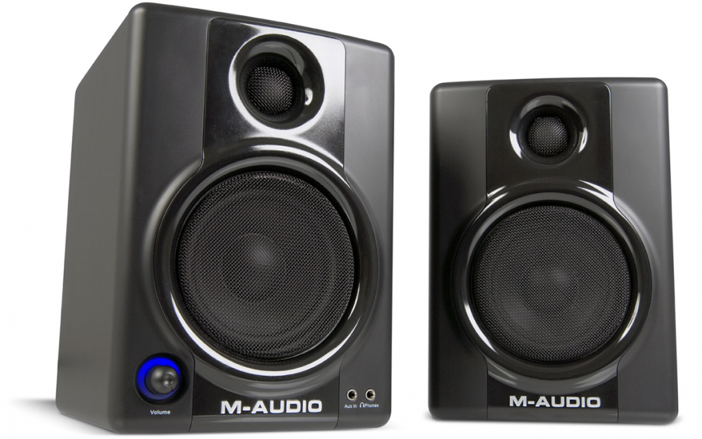 Our review of the Studiophile AV 40 monitors by M-Audio