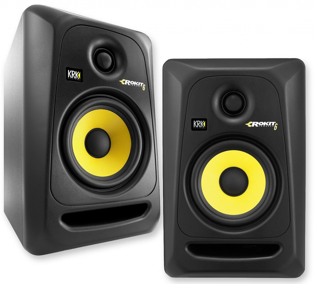 A Great Pair Of Studio Monitor Speakers
