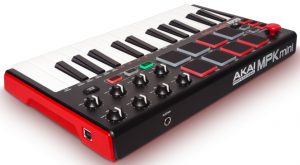 A nice look of the compact MIDI controller
