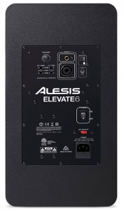 Back view of the Alesis Elevate 6 monitor