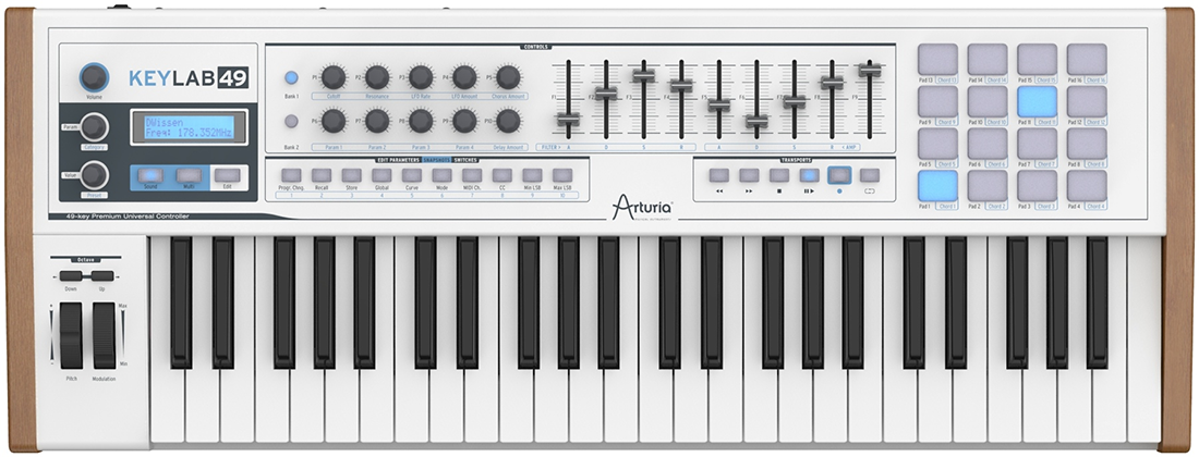 Arturia's solid and nice looking keyboard controller