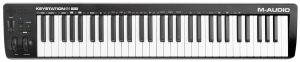 The new Keystation MIDI keyboard by M-Audio