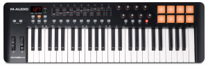 A great budget-friendly MIDI keyboard by M-Audio
